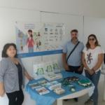 Mesa informativa Octubre, mes de la artritis y espondiloartritis
