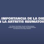 Importancia de la dieta en la artritis reumatoide
